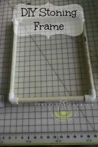 stoning frame